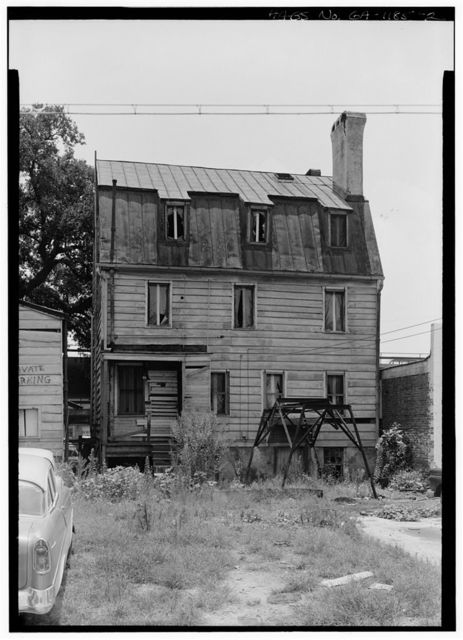 Hampton Lillibridge House, No. 1, 507 East Julian Street (moved from 310 East Bryan Street), Savannah, Chatham County, GA