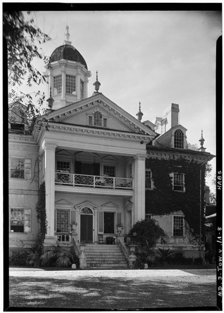 Hampton, Mansion, 535 Hampton Lane, Towson, Baltimore County, MD