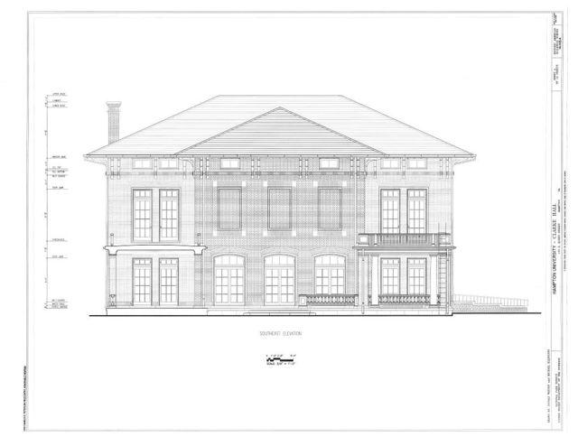 Hampton University, Clarke Hall, Intersection of Huntington Road and Marshall Avenue, Hampton, Hampton, VA