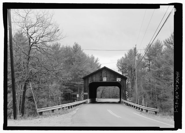 Hancock-Greenfield Bridge, Spanning Contoocook River, Forest Road (formerly Old County Road), Hancock, Hillsborough County, NH
