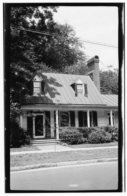 Hanff House, 313 George Street, New Bern, Craven County, NC