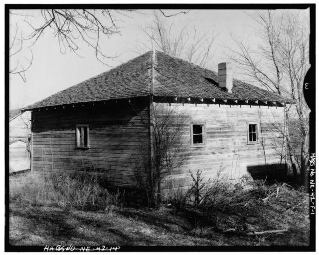 Hans Ehlers Farm, Shed, F Street, Papillon 18 Damsite, Millard, Douglas County, NE