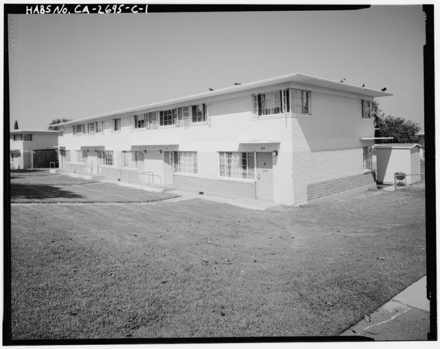 Harbor Hills Housing Project, Two Story Townhouse Type, 26607 Western Avenue, Lomita, Los Angeles County, CA