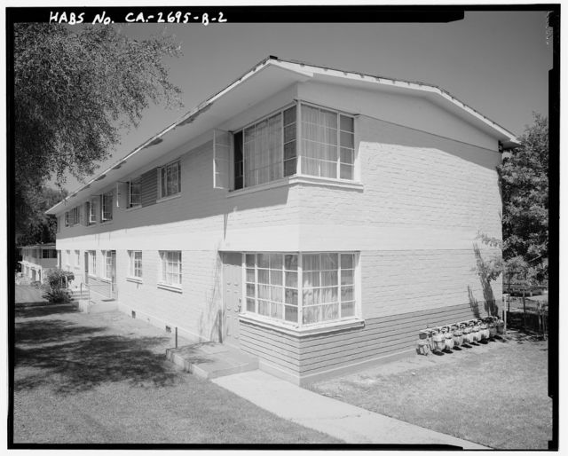 Harbor Hills Housing Project, Two Story Walk-Up Type, 26607 Western Avenue, Lomita, Los Angeles County, CA