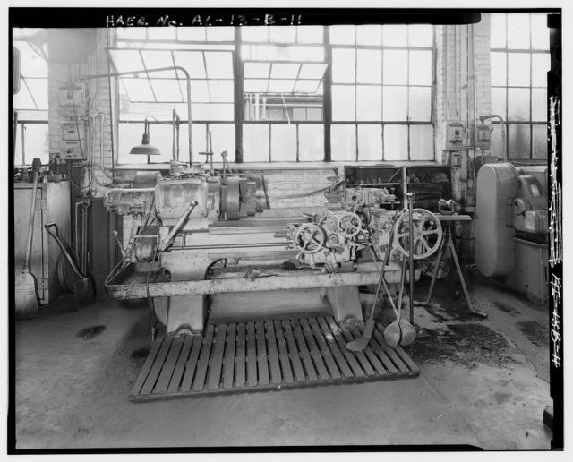 Hardie-Tynes Manufacturing Company, Machine Shop, 800 Twenty-eighth Street, North, Birmingham, Jefferson County, AL