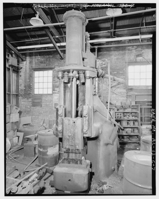 Hardie-Tynes Manufacturing Company, Smith Shop, 800 Twenty-eighth Street, North, Birmingham, Jefferson County, AL