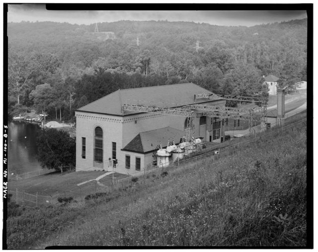 Hardy Hydroelectric Plant, Powerhouse, 6928 East Thirty-sixth Street, Newaygo, Newaygo County, MI