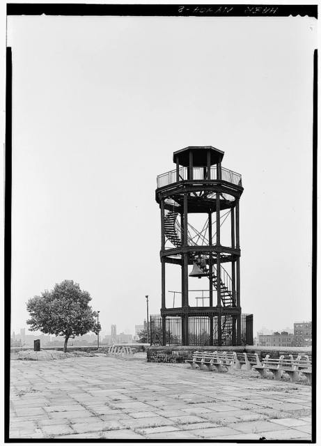 Harlem Fire Watchtower, Marcus Garvey Park, New York, New York County, NY