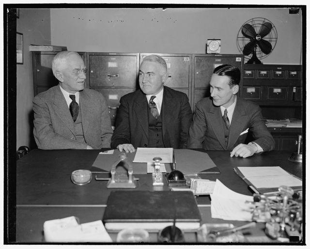 Harold E. Doyle, Fred. D. Allen, Aubrey St. C. Wardwell