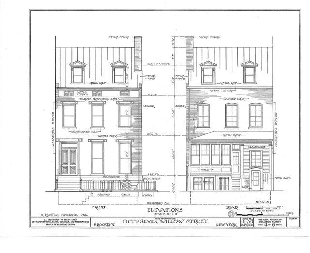 Harold J. Szold House, 57 Willow Street, Brooklyn, Kings County, NY