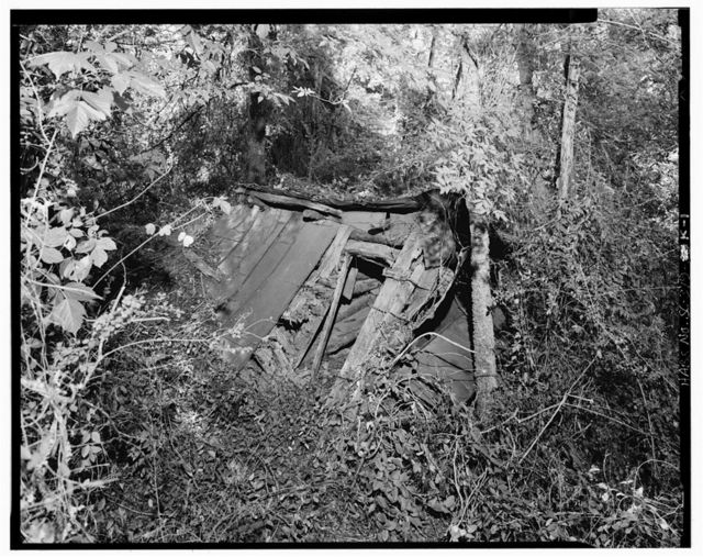 Harper-Featherstone Farm, Hog Pen (Ruins), .7 mile west of County Road 81, Lowndesville, Abbeville County, SC