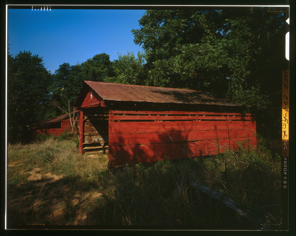 Harper-Featherstone Farm, Machine Shop, .7 mile west of County Road 81, Lowndesville, Abbeville County, SC