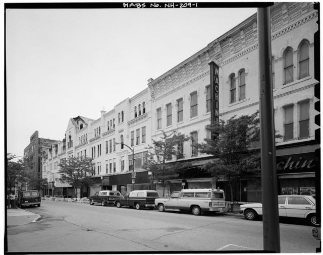 Harrington-Smith Block, 18-52 Hanover Street, Manchester, Hillsborough County, NH