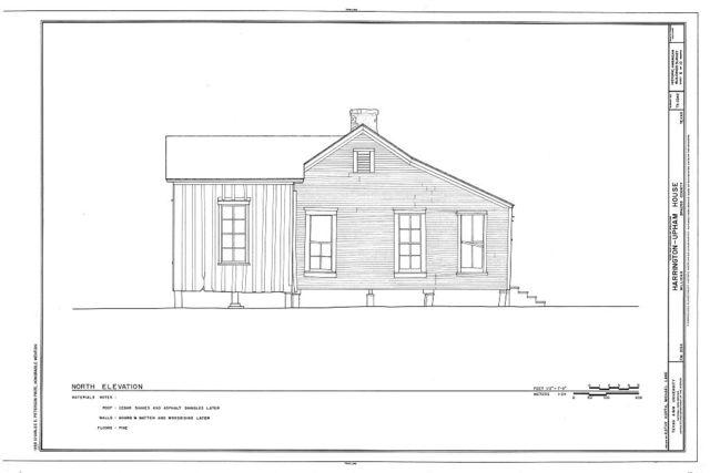 Harrington-Upham House, FM 2154 (Wellborn Road), Millican, Brazos County, TX