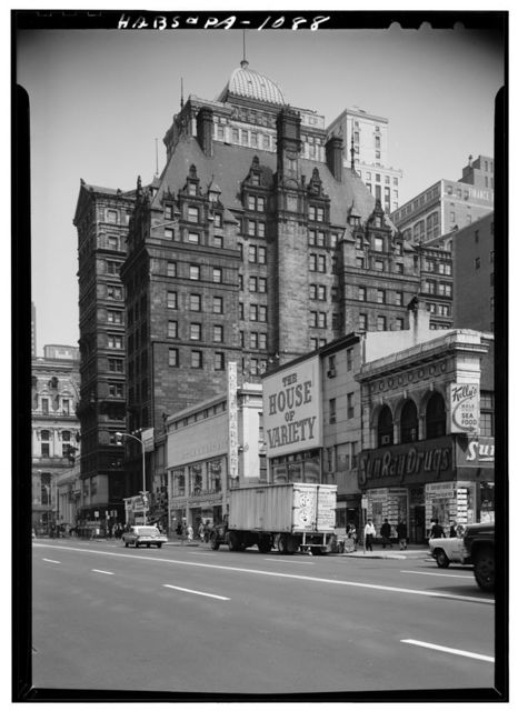 Harrison Building, 4 South Fifteenth Street, Philadelphia, Philadelphia County, PA