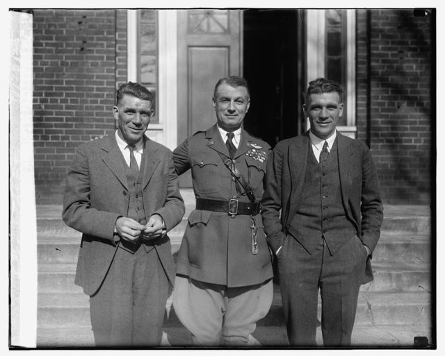 Harry C. Short, Col. Mitchell & Geo. W. Short, 11/20/25