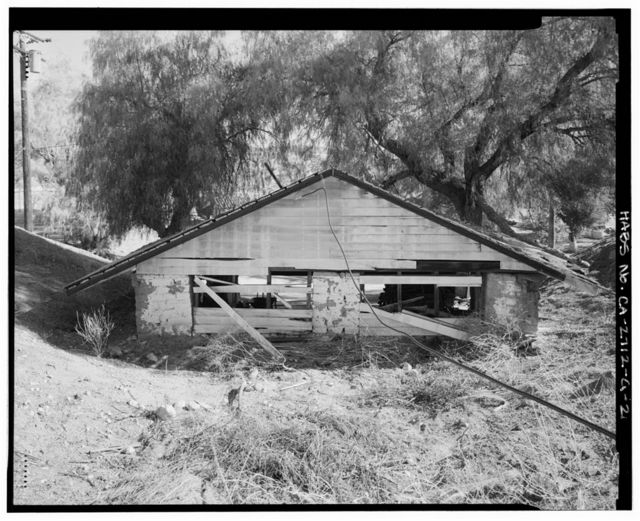 Harry Carey Ranch, Upper Garage, 28515 San Francisquito Canyon Road, Saugus, Los Angeles County, CA