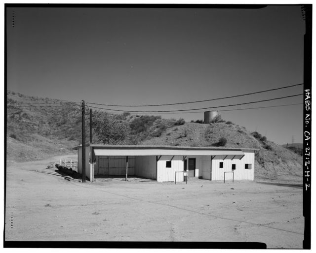 Harry Carey Ranch, Wood Stable, 28515 San Francisquito Canyon Road, Saugus, Los Angeles County, CA