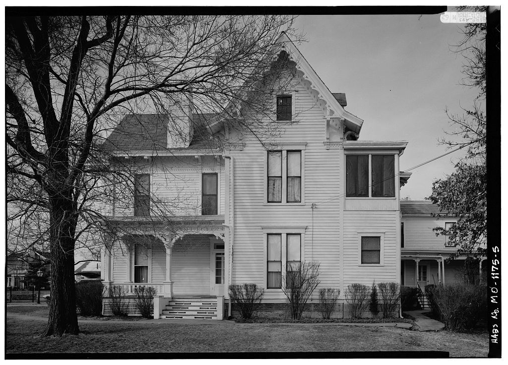 Harry S. Truman House, 219 North Delaware Street, Independence, Jackson County, MO