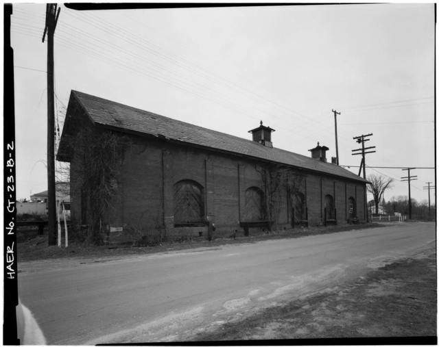 Hartford & New Haven Railroad, Freight Depot, 40 Central Street, Windsor, Hartford County, CT