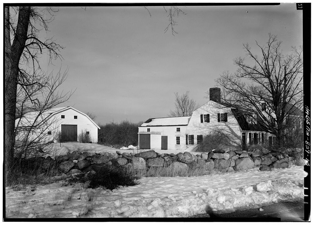 Hartwell Tavern, Virginia Road, Lincoln, Middlesex County, MA