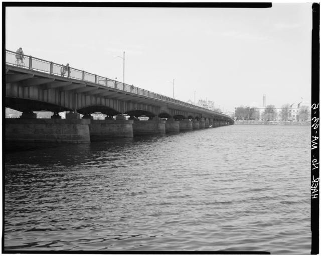 Harvard Bridge, Spanning Charles River at Massachusetts Avenue, Boston, Suffolk County, MA