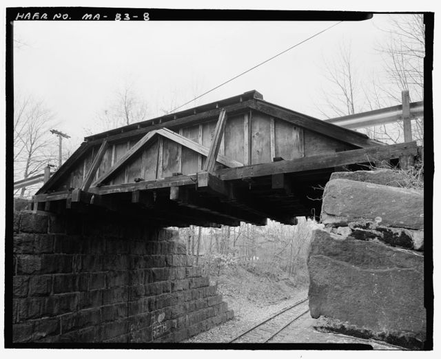 Hastings Bridge, Campground Road spanning Worcester, Nashua & Portland Division, Boston & Maine Railroad, Sterling, Worcester County, MA