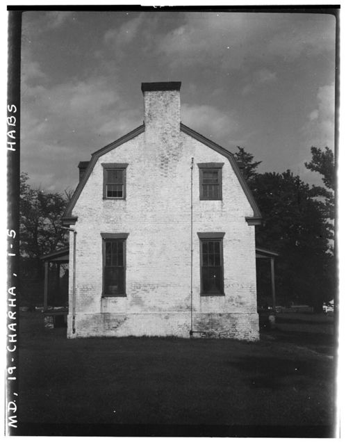 Hatch-Dent House, State Routes 236 & 5, Charlotte Hall, St. Mary's County, MD