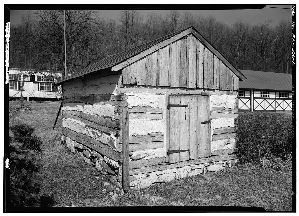 Hause Smokehouse, State Route 401 (East Nantmeal Township), East Nantmeal, Chester County, PA