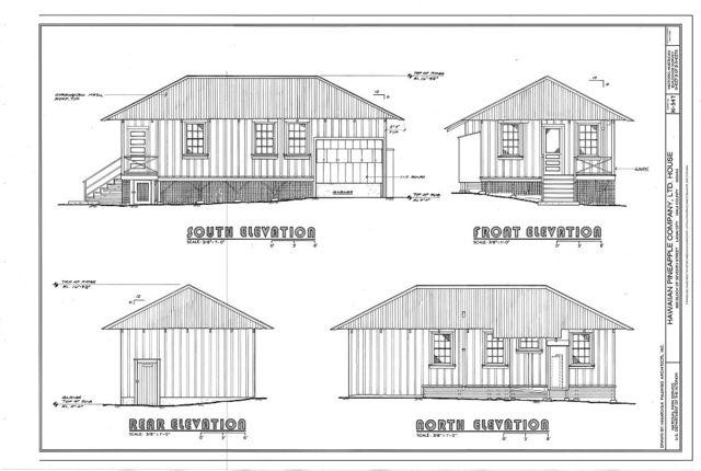 Hawaiian Pineapple Company (HAPCO) Ltd. House, 644 Lanai Avenue, Lanai City, Maui County, HI