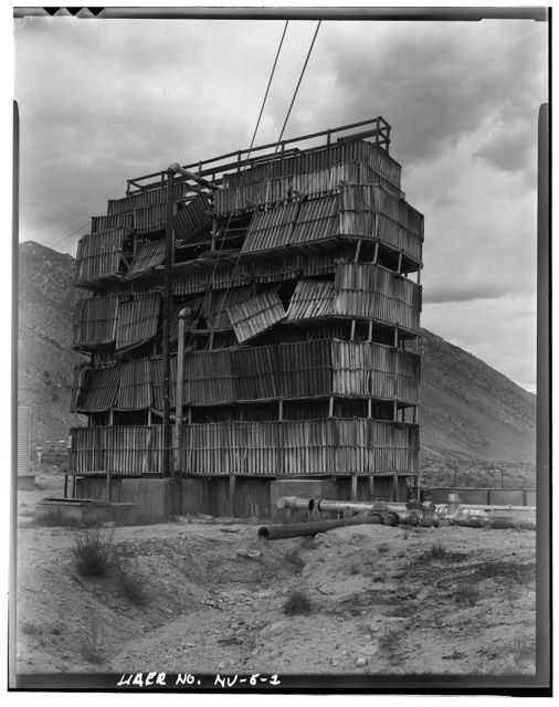 Hawthorne Naval Ammunition Depot, Redwood Cooling Tower, U.S. Highway 95, Hawthorne, Mineral County, NV