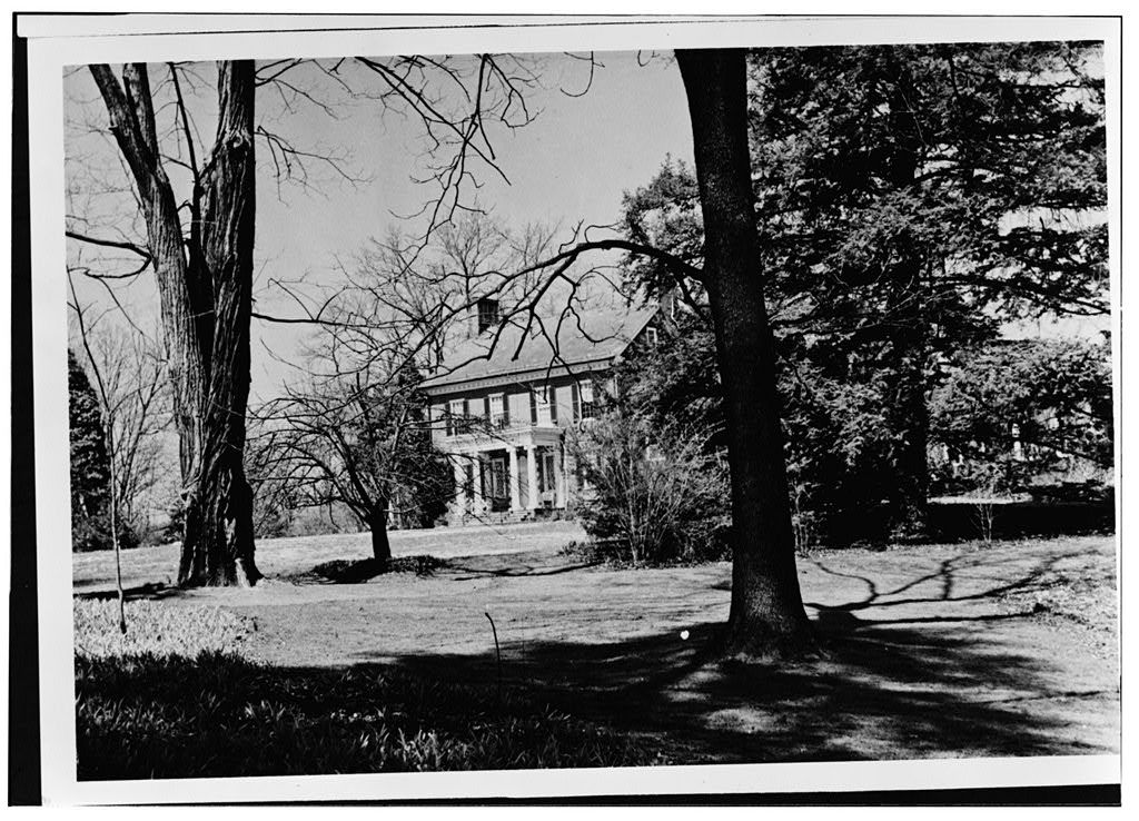 Hayes Manor, 4101 Manor Road, Chevy Chase, Montgomery County, MD