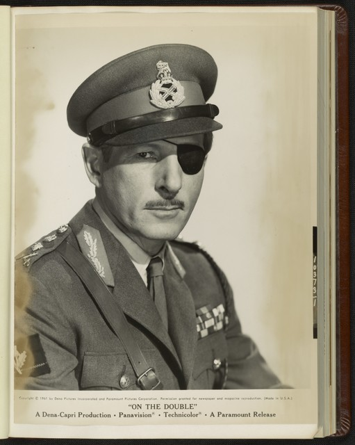 [ Headshot of Danny Kaye as General MacKenzie-Smith]