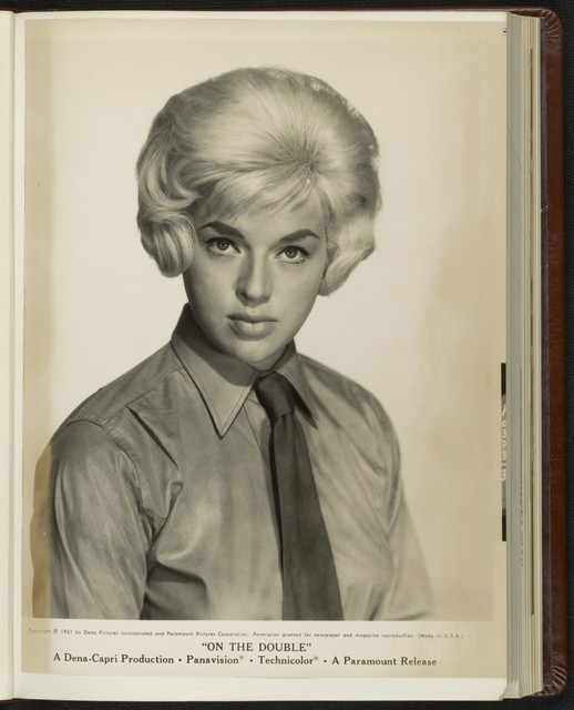 [ Headshot of Diana Dors as Sergeant Bridget Stanhope]