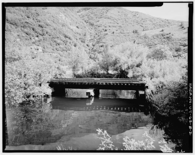 Heber Creeper Railroad Line, Vivian Park Bridge, Spanning South Fork of Provo River, Provo, Utah County, UT