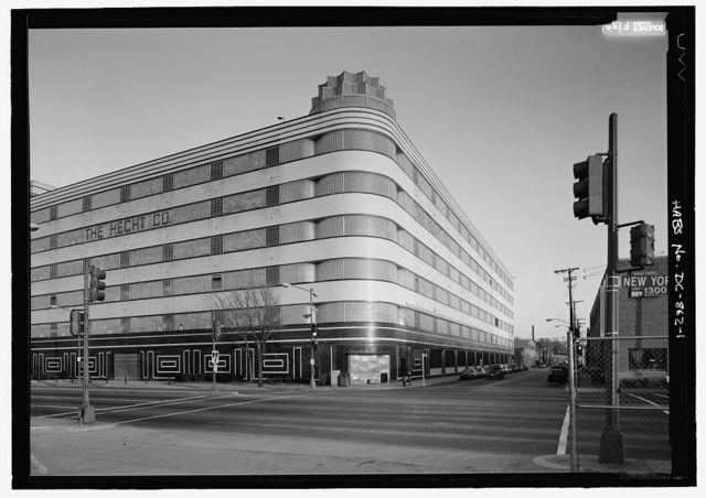 Hecht's Company Warehouse, 1401 New York Avenue, N.E., Washington, District of Columbia, DC