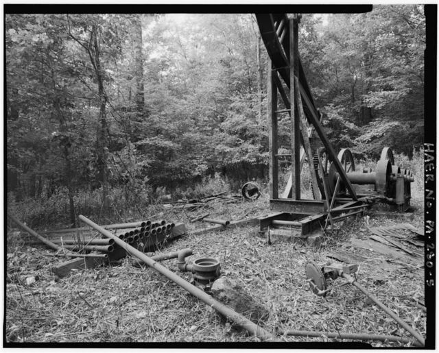 Heckert Oil Pumping Jack, 0.6 mile North of Connoquenessing Creek, 0.15 mile East of Powder Mill Creek, Renfrew, Butler County, PA