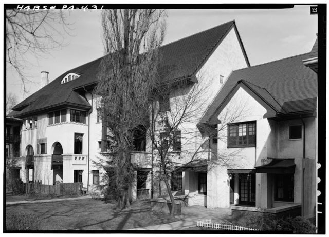 Heidelberg Apartments & Cottages, Braddock Avenue & Waverly Street, Pittsburgh, Allegheny County, PA
