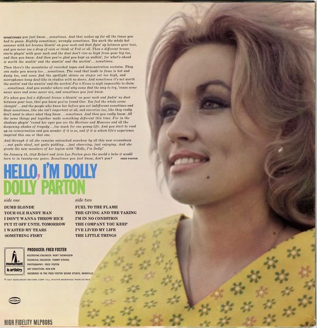 Hello I'm Dolly