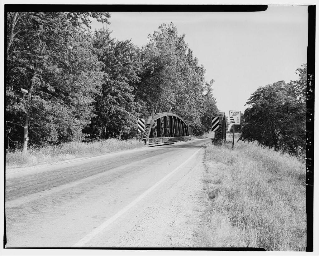 Hemlock Road Bridge, Spanning north branch of Bad River, Brant, Saginaw County, MI