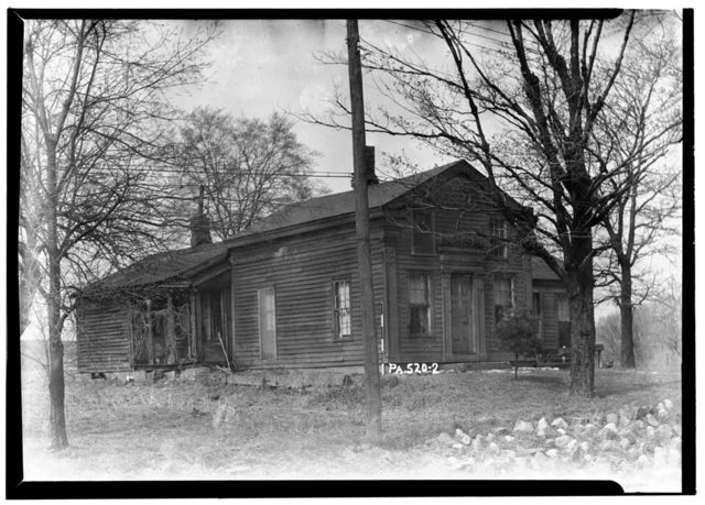 Hendryx House, State Route 77, Riceville, Crawford County, PA