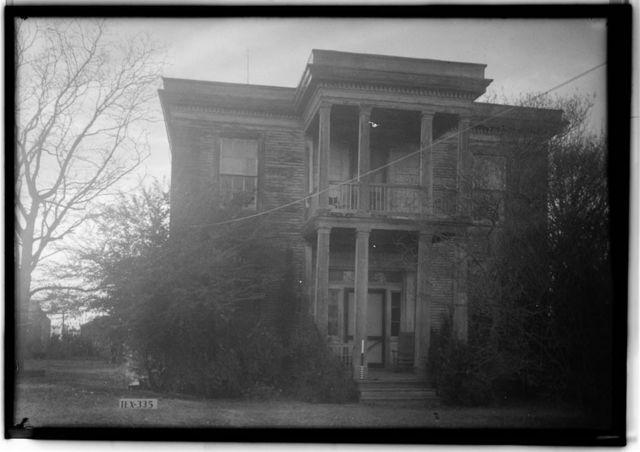 Henry Crocheron House, 1502 Wilson Street, Bastrop, Bastrop County, TX