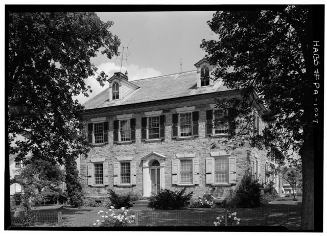 Henry Fisher House, State Route 622 (Oley Township), Yellow House, Berks County, PA