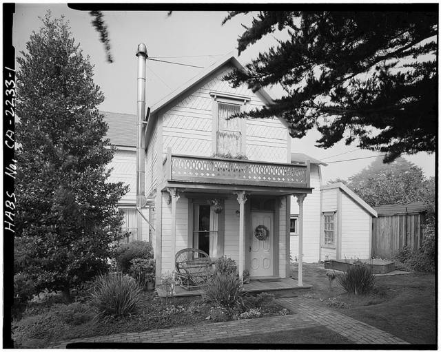 Henry Gorden House, 10521 School Street, Mendocino, Mendocino County, CA