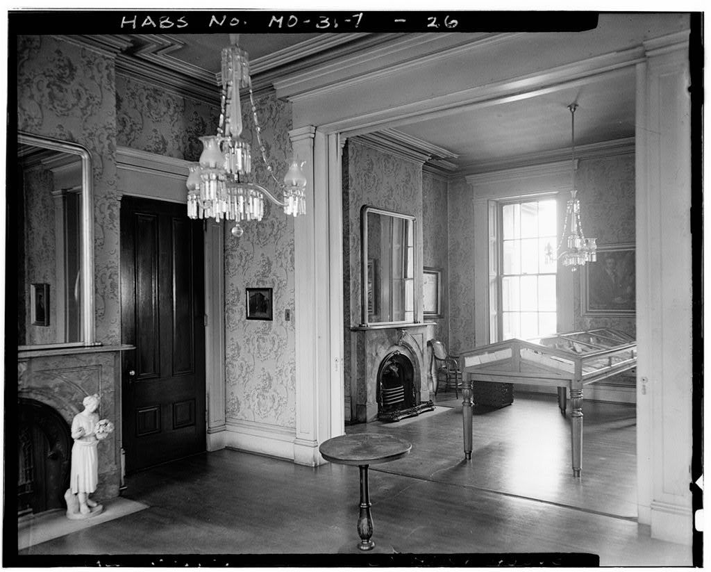Henry Shaw House, 2345 Tower Grove Avenue, Saint Louis, Independent City, MO