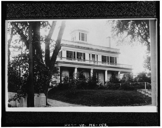 Henry Tallman House, 982 High Street, Bath, Sagadahoc County, ME