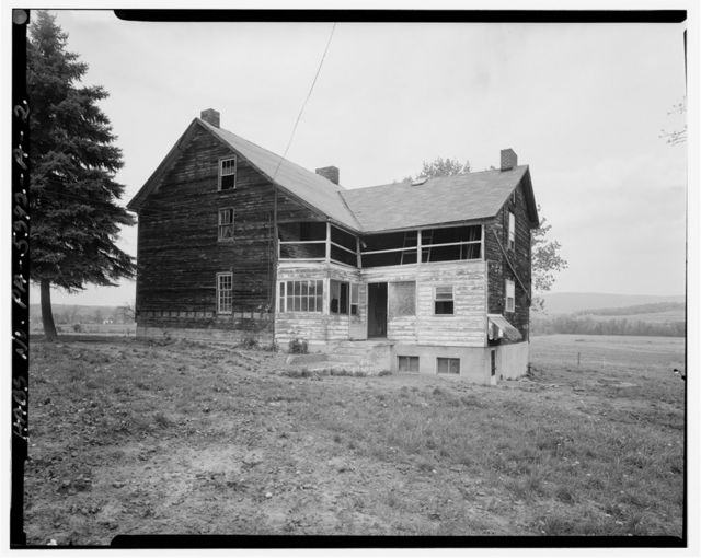 Hershberger Farm, House, .4 mile East of Business Route 220, .35 mile Southeast of Cessna, Cessna, Bedford County, PA