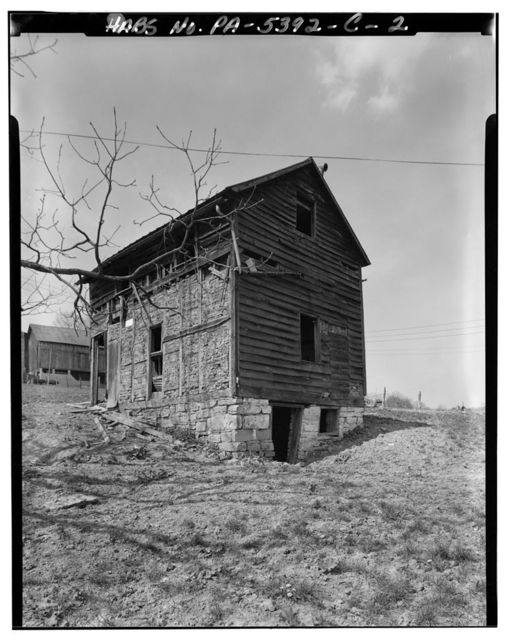 Hershberger Farm, Outbuilding, .4 mile East of Business Route 220, .35 mile Southeast of Cessna, Cessna, Bedford County, PA