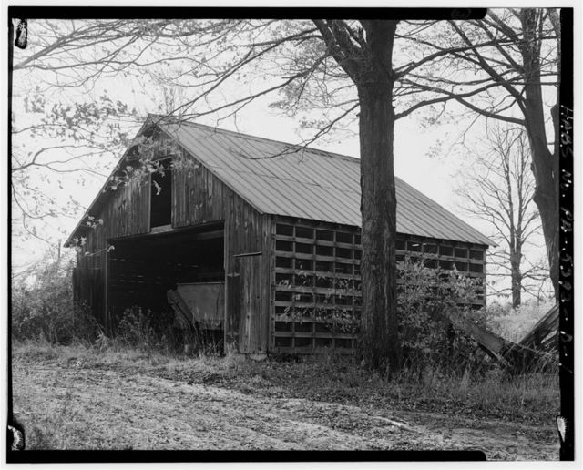 Hershberger Farm, Wagon Shed-Corn Crib, .4 mile East of Business Route 220, .35 mile Southeast of Cessna, Cessna, Bedford County, PA