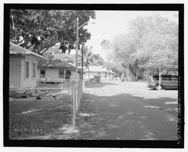 Hickam Field, Fort Kamehameha Historic Housing, Along Worchester Avenue & Hope Street, Honolulu, Honolulu County, HI